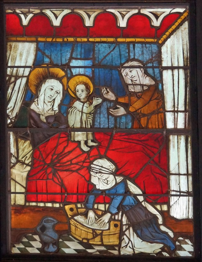 Boppard Panel Birth of the Virgin