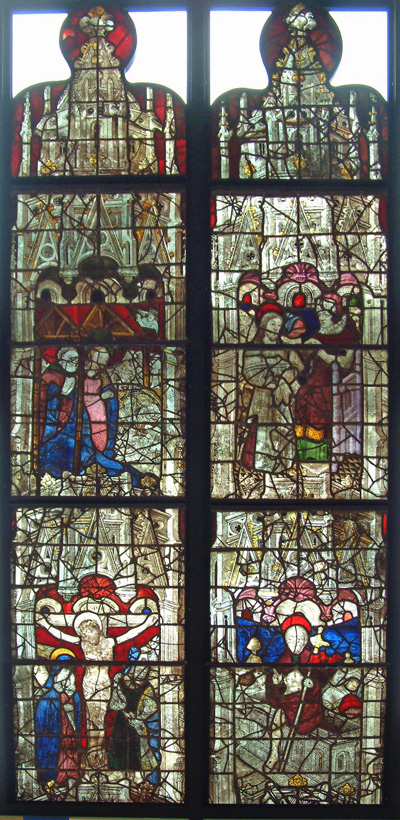 Burrell Collection: Life Of Christ Window - Christ Before Pilate