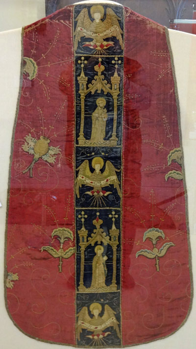 Burrell Collection - Chasuble (back view)