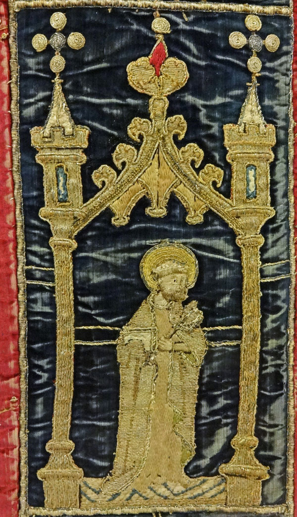 Burrell Collection - Chasuble (Detail of St.Peter)