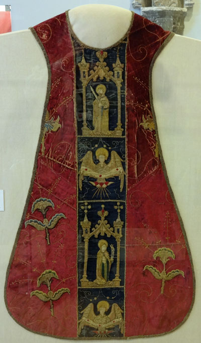 Burrell Collection - Chasuble (front view)