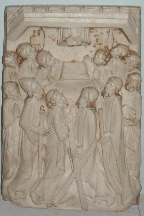 Burrell Collection - Nottingham Alabaster - The Ascension of Jesus