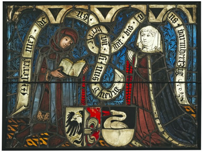 Boppard Panel - Siegfried von Gelnhausen and his Wife