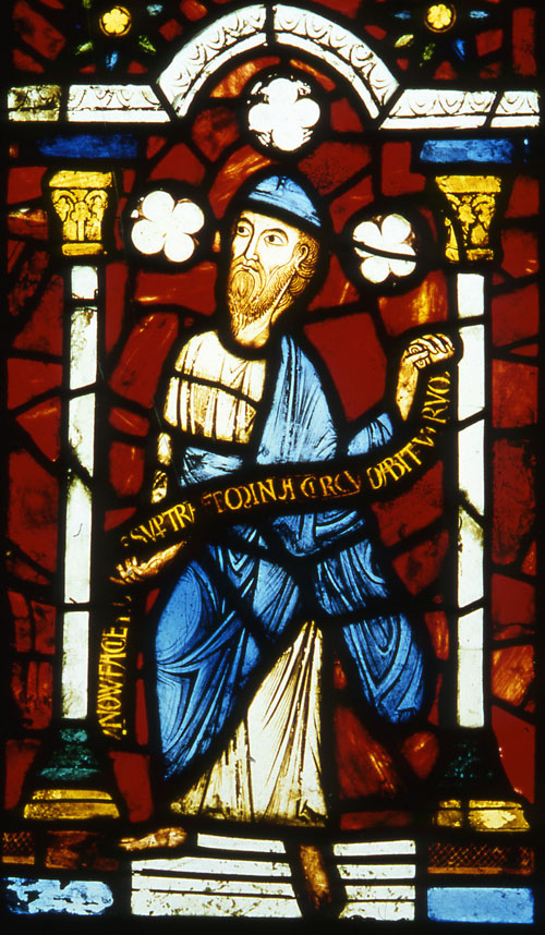 Burrell Collection - Prophet Jeremiah from the Abbey of St Denis