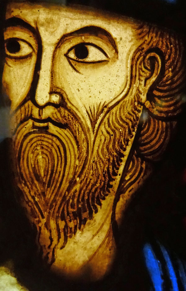 Prophet Jeremiah - Face Detail