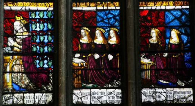 Royal window from Canterbury Cathedral
