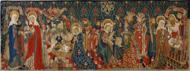 Burrell Tapestry - Scenes from the Life of Mary
