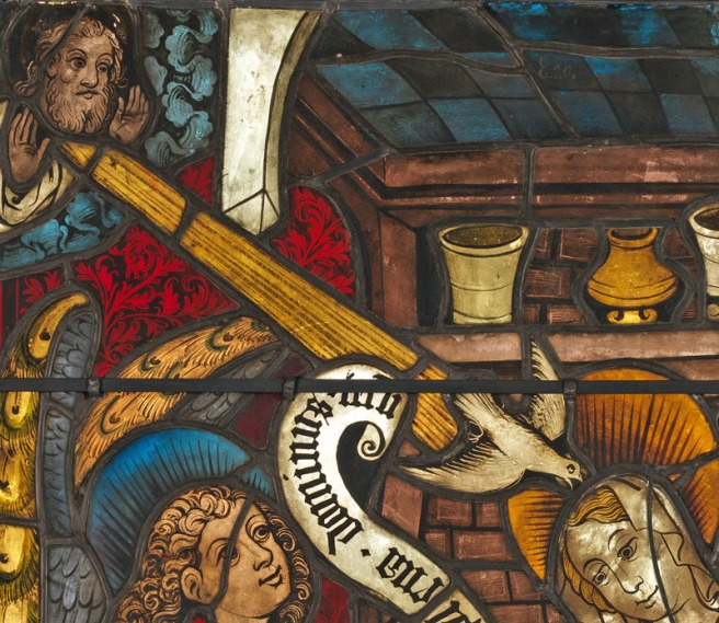 Detail - Boppard Annunciation panel