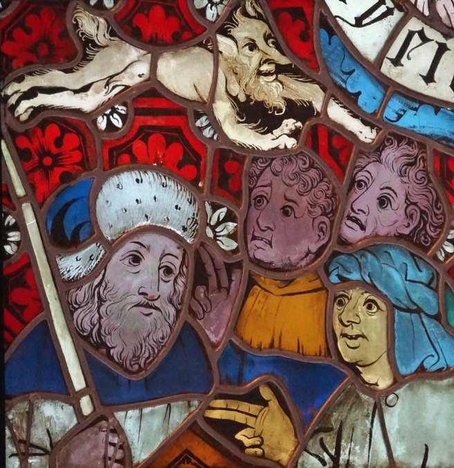 Detail from 8th Commandment panel