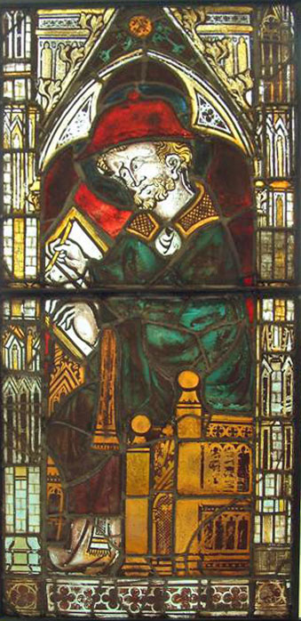 Burrell Collection - Saint Writing