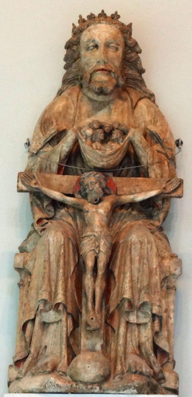 Alabaster Holy Trinity - English