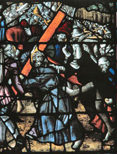 Christ Carrying the Cross - Cologne Cathedral