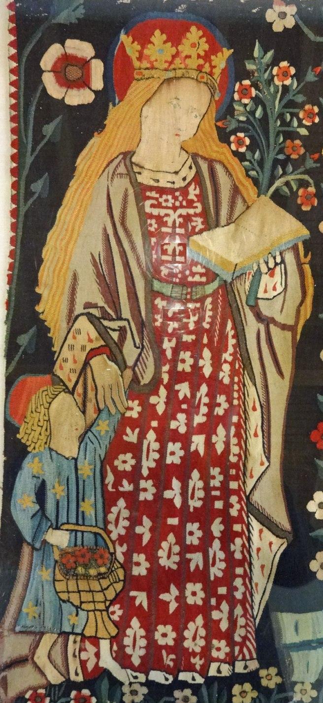 St Dorothy from the Five Female Saints Tapestry