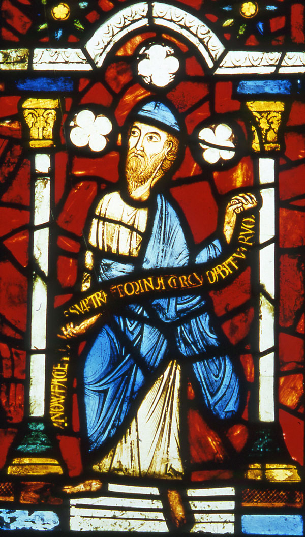 Prophet Jeremiah from the Abbey of St. Denis