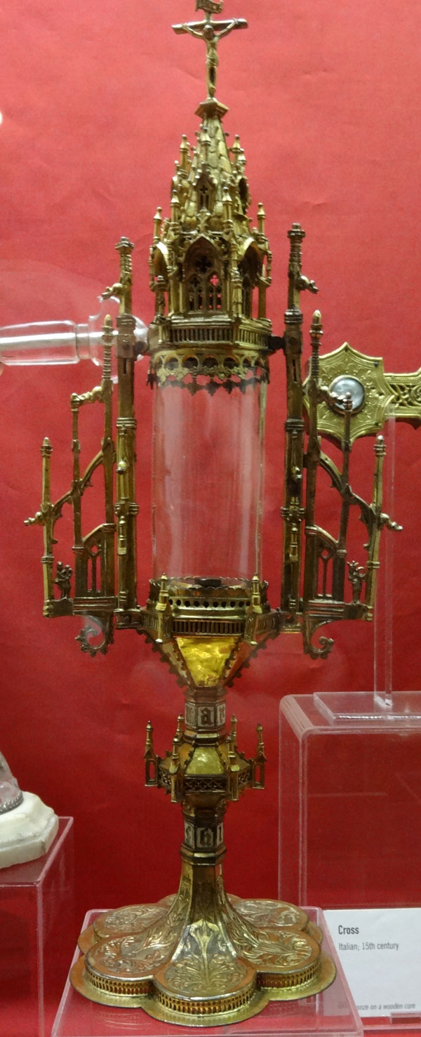 Burrell Collection - Monstrance, early 16th century, German