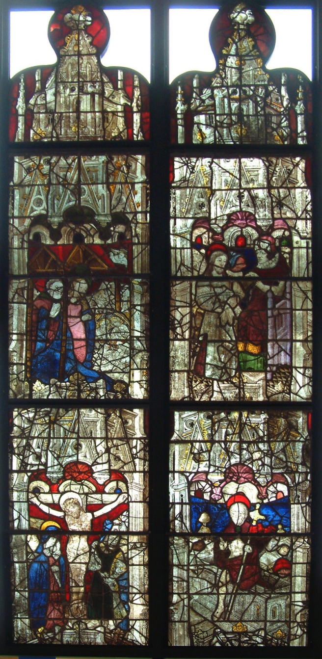 Burrell Collection - Life of Christ Windows from Church of Saint-Maclou in  Rouen