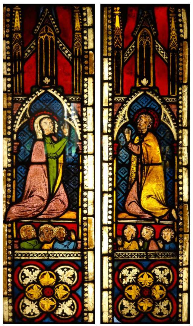 Burrell Collection - Virgin and St. John the Baptist