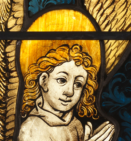 Boppard Angel from the Resurrection panel