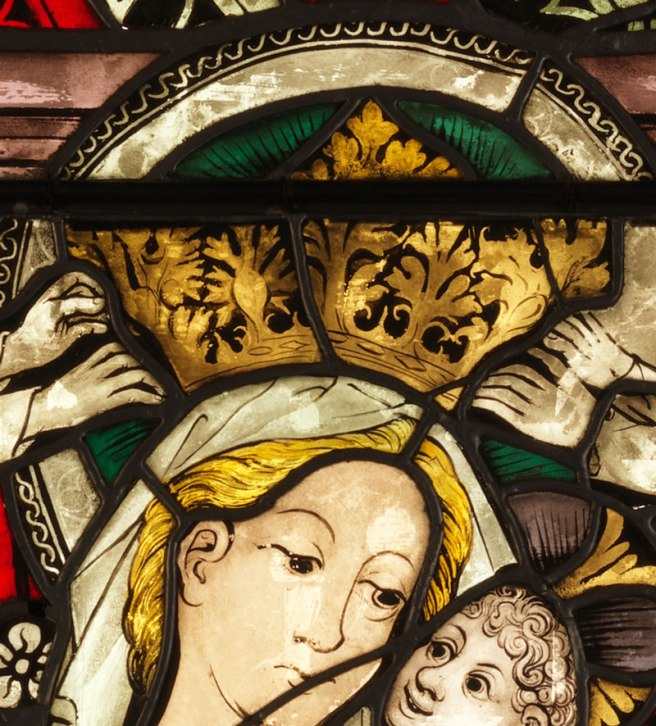 Boppard Virgin And Child from the Ten Commandments Window
