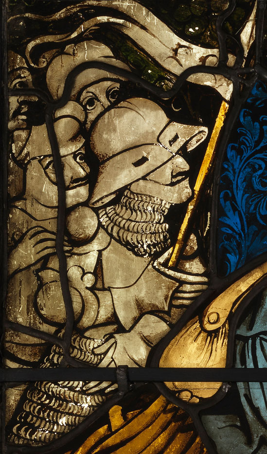 Detail from Agony in the Garden